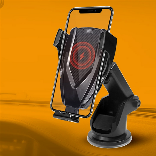 Jabees Universal Car Mount Holder MCM-928, is a 2-in-1 universal car mount holder. Featuring Qi Wireless Fast Charging efficiency 74%, Smart Optical Sensor design for Auto-Clamping & Quick Releasing.