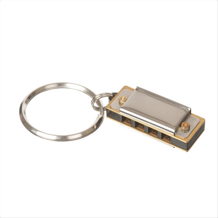 World's Smallest Harmonica Keyring Real working harmonica Big sound from a small instrument