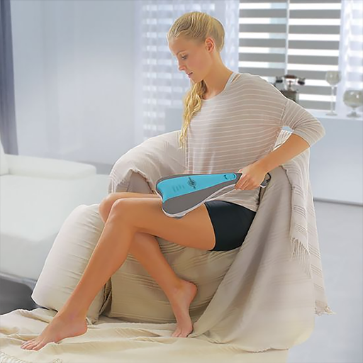 The Percussion Massager is a unique and handy remedy for your days massaging needs. With its handheld design and functional build it allows you to get a complete relaxation massage that doesn't break the bank