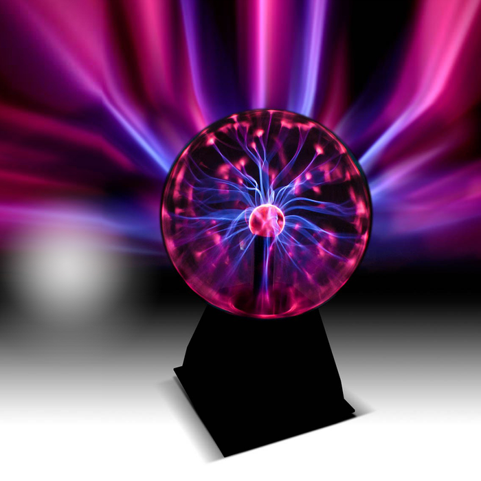"5"" Plasma Ball is a great gift for any occasion, gift for him and boys. It is about the science with the lightning in the background."