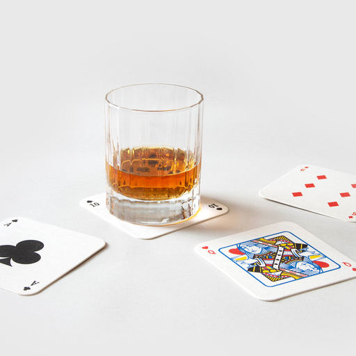 Playing Card Drink Mats - B Cool 2