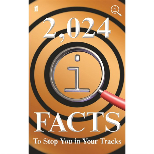 2024 Facts book Interesting facts, quotations and links Great gift book Seventh if the series QI Facts book