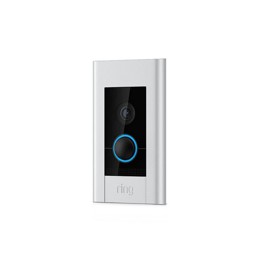 Monitor your home, answer the door and greet guests straight from your phone with the Ring Video Doorbell Elite, now with power over ethernet for a better connection, professional  security and convenience.