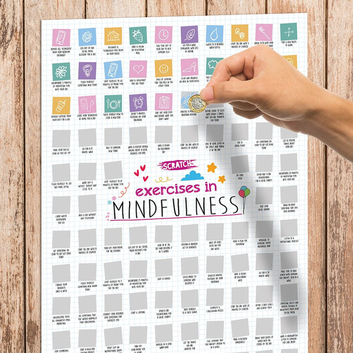 Mindfulness Scratch Poster - B Cool 2