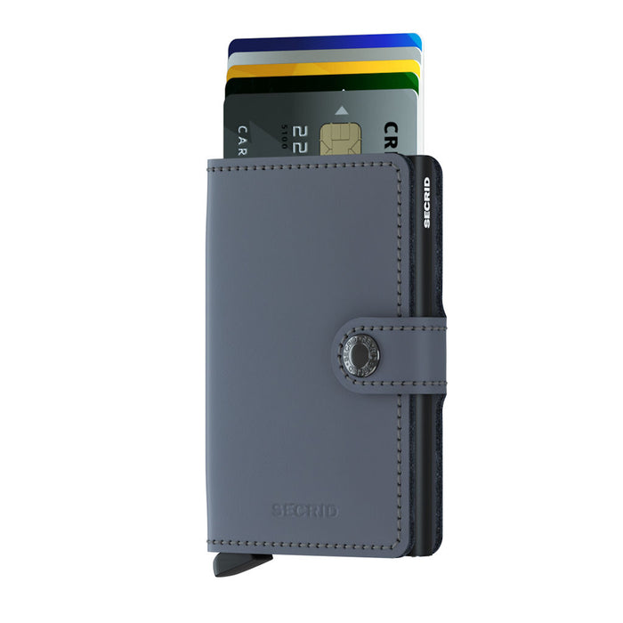 Secrid Miniwallet Matte Grey-Black - B Cool 2