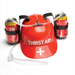 Thirst Aid Drinking Hat  Classic Novelty Drinking Hat Holds 2 Cans or Standard Bottles Hilarious fun and always a favourite