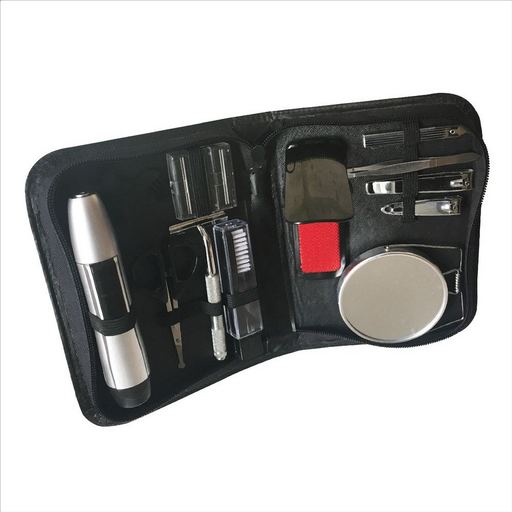 Grooming Kit With Trimmer 10 different tools for maximum versatility Perfect home or travel kit