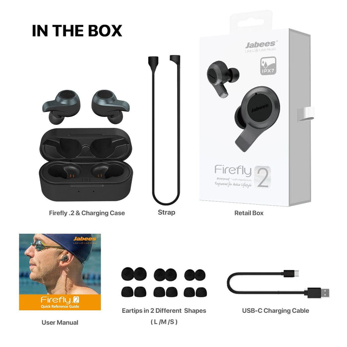 Firefly 2 Waterproof Wireless Earbuds - B Cool 2