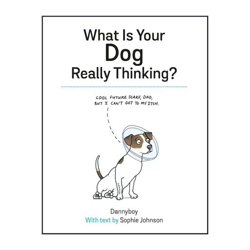 What Is Your Dog really Thinking? Gift book for dog owners Funny thoughts from your pet