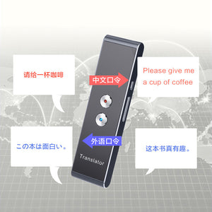 Portable Translator for Learning, Travelling, Business, Meetings