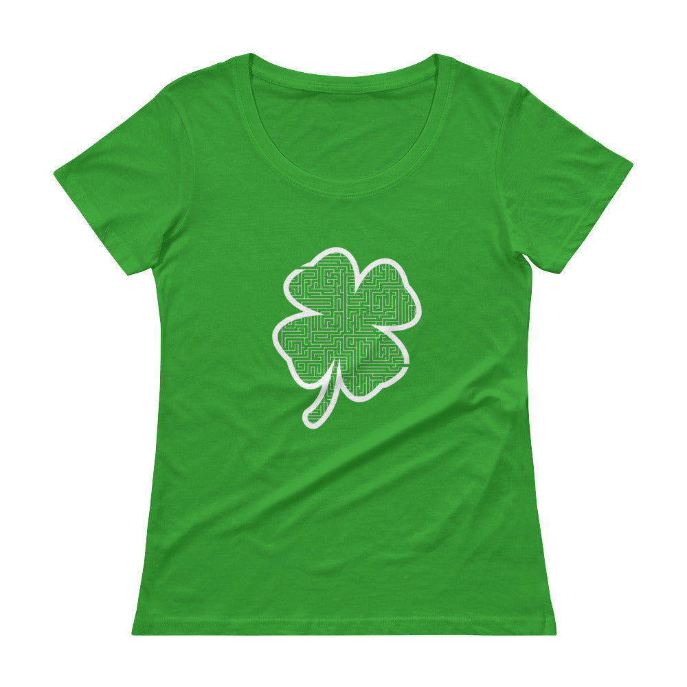 Ladies' Clover Maze Scoopneck T-Shirt