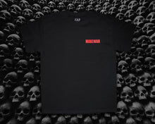 Load image into Gallery viewer, Make war Tee shirt, black and red