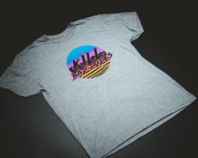 Load image into Gallery viewer, KBD grey Tee, Miami Retro party