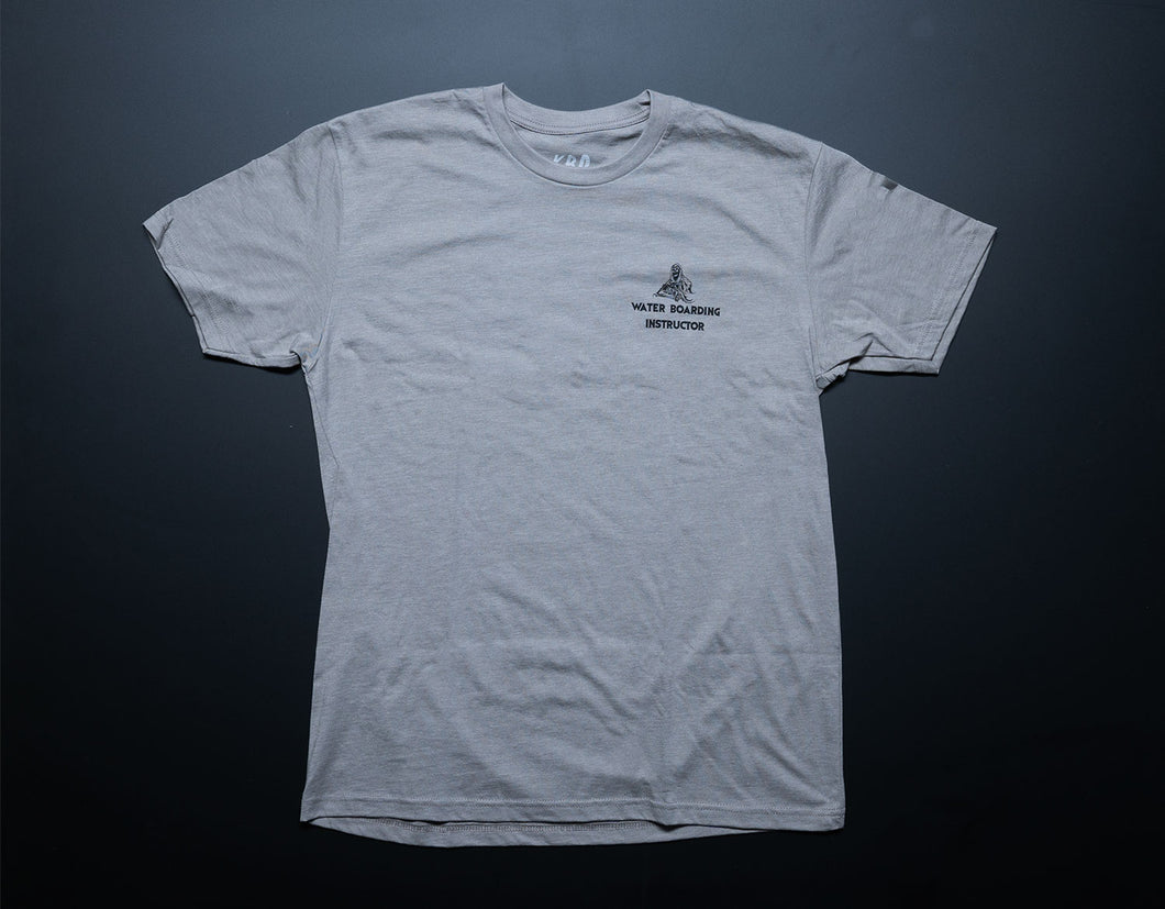 Beige Waterboarding instructor Tee