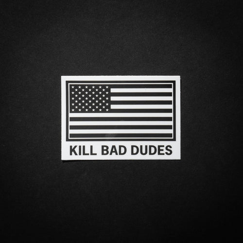 SUBDUED AMERICAN FLAG STICKER