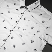 Load image into Gallery viewer, Predator print short sleeve button up, PRE ORDER