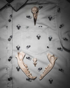 Predator print short sleeve button up, PRE ORDER