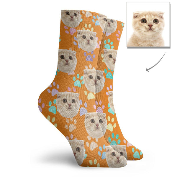 Custom Cat Short Socks - Lotjog