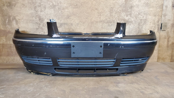 Front Bumper & Valance - Jetta GLI - Black Magic Pearl