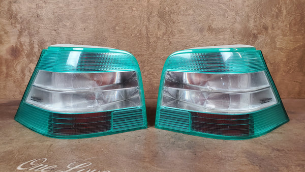 Tail Lights - Magic Colours Green - Golf/GTI