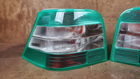 Tail Lights - Magic Colours Green - Golf/GTI -- NEW