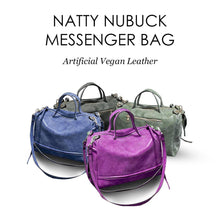Load image into Gallery viewer, Natty Nubuck Messenger Bag
