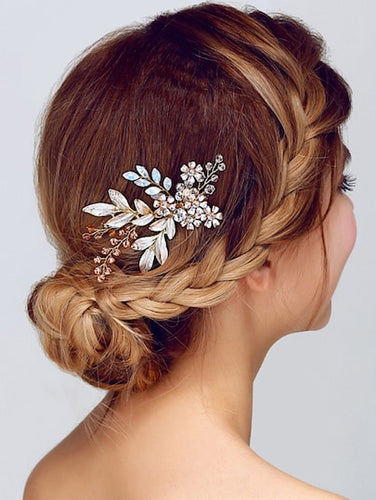 Flower Bridal Hair Comb