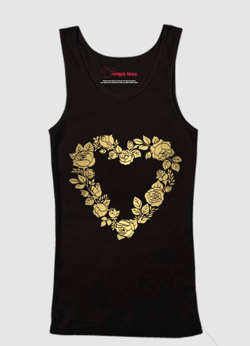 Flower Heart Tank Top