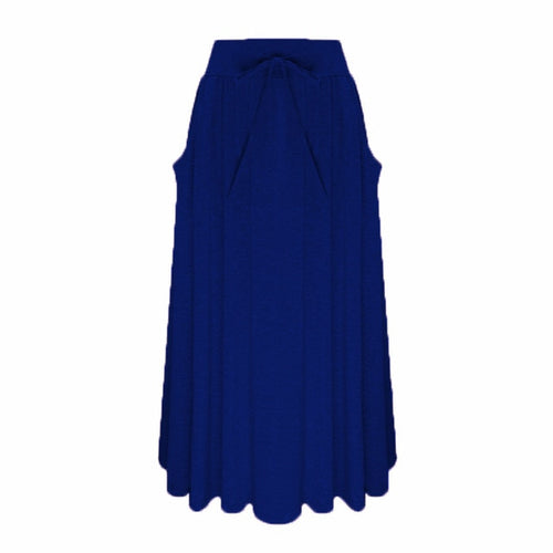 Long Skirts High Waist with Pockets