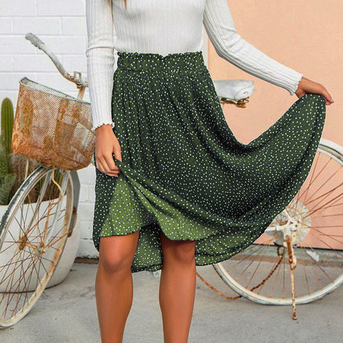 Swing Boho Long Maxi Skirt