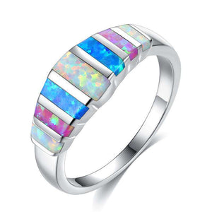Opal Natural Stone Opal Ring Lady'S Hand - 24/7 bestdeals