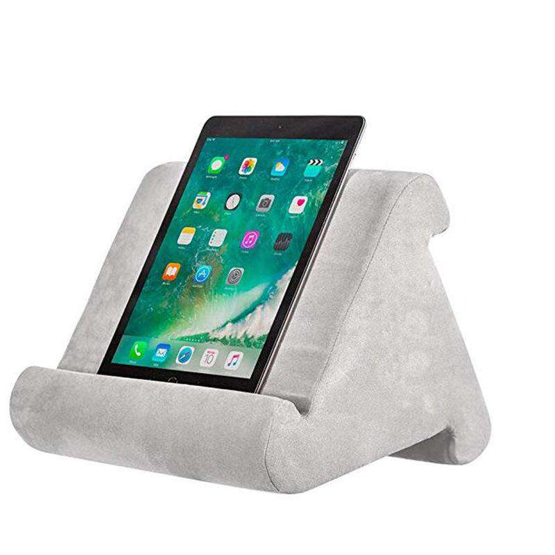 Tablet phone holder soft pillow