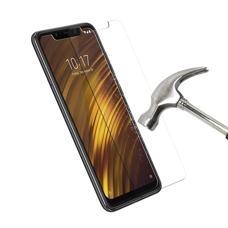9H 2.5D Tempered Glass Screen Protector for Xiaomi Pocophone F1 2PCS