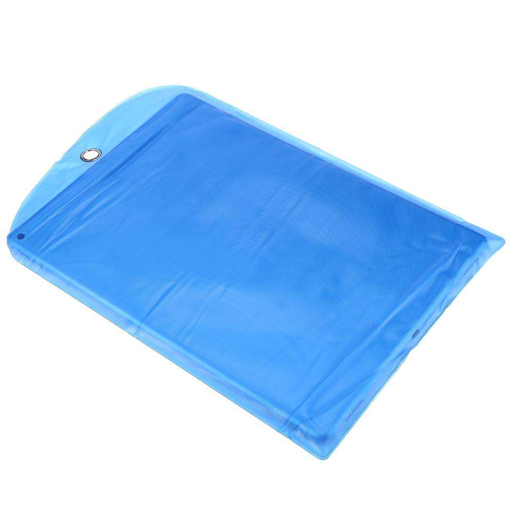 240 x 360mm PVC Ziplock Water Resistant Packaging Bag Protective Cover for Mobile Phone