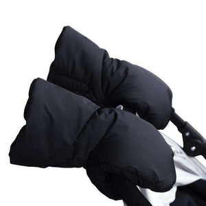 Waterproof Chunky Plush Stroller Warmer Pushchair Gloves - 24/7 bestdeals