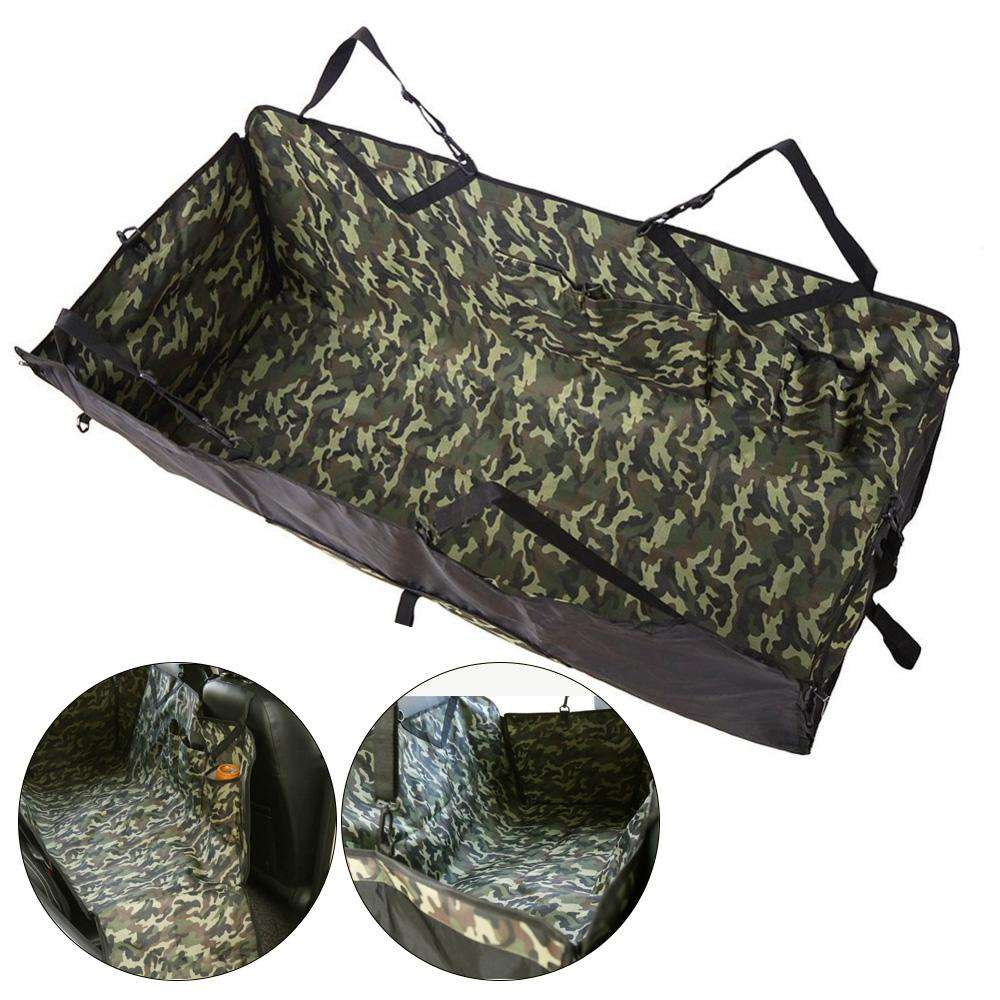 Camouflage Pattern Waterproof Pet Rear Back Seat Mat - 24/7 bestdeals