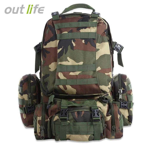 Outlife 50L Multifunction Molle Camouflage Backpack - 24/7 bestdeals