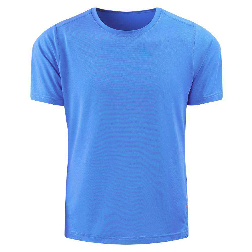Male Quick Drying Fit Short Sleeve T-shirts Top Tee for Men Sports Run Gym