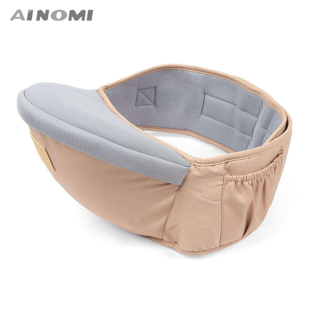 Ainomi Baby Carrier Waist Stool Walkers Infant Sling Hold Hipseat Belt for Kids - 24/7 bestdeals