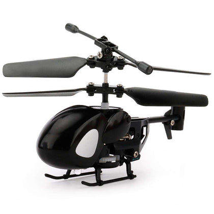 Mini Remote Helicopter Black