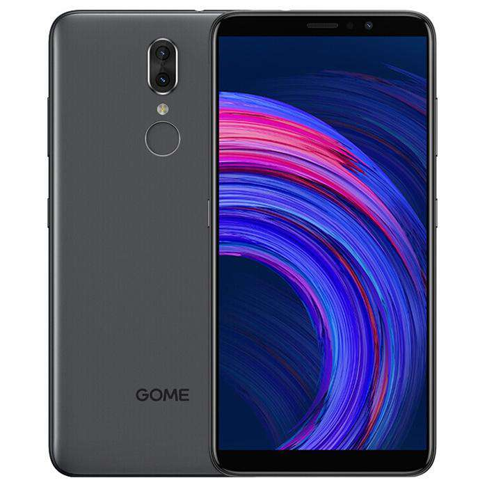 GOME Fenmmy Note ( C7 note PIUs ) 4G Phablet 5.99 inch Android 8.1 MTK 6763T Octa-core 2.3GHz 4GB RAM 64GB ROM 13.0MP + 5.0MP Dual Rear Camera Fingerprint Sensor 3500mAh Built-in