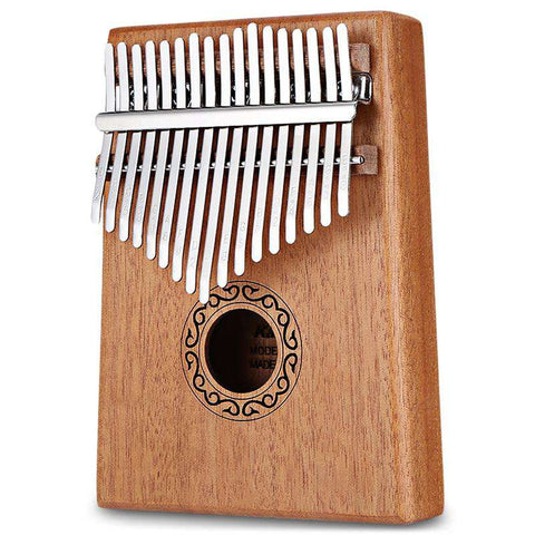 17 Tone Wooden Kalimba Thumb Piano Portable Finger Musical instrument - 24/7 bestdeals