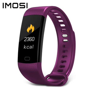 Imosi Y5 Smart Bracelet Color Screen Heart Rate Fitness Tracker Watch - 24/7 bestdeals