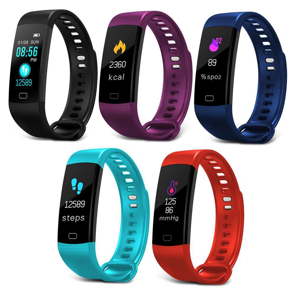 Imosi Y5 Smart Bracelet Color Screen Heart Rate Fitness Tracker Watch