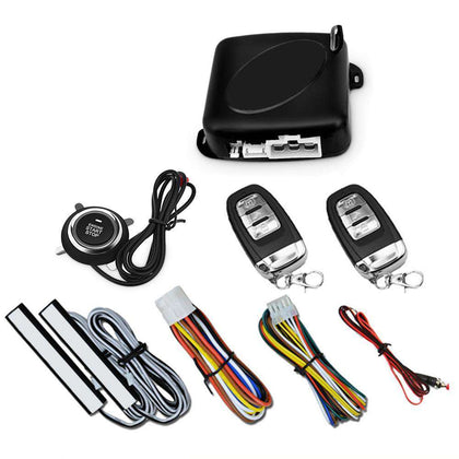 C6 - B Push Button Start System Car Security Alarm Engine Starter - 24/7 bestdeals