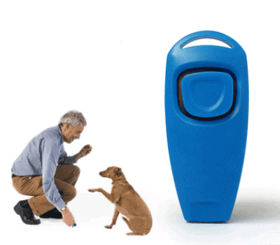 Pet ring + whistle training dog whistle pet training ring two-in-one ring naked machine