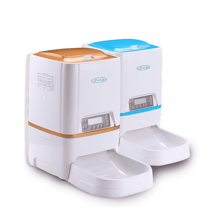 Pet Automatic Feeder With Timer - Intelligent Timing Quantitative - Pet Food Machine Dispenser