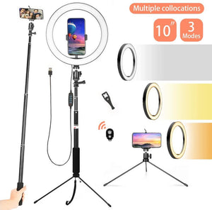 10 inch LED Selfie Ring Light with Phone Holder - 24/7 Best Deals