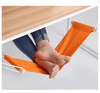 Portable Office Foot Hammock Mini Feet Rest Stand Desk Footrest Hamac Hangmat Study Table Hang Leisure Hanging Chair Orange