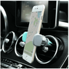 Car air outlet mobile phone holder Central control navigation suction cup bracket silicone bottom Car air conditioning port set